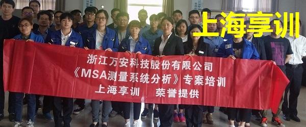 MSA培训――浙江万安科技股份有限公司
