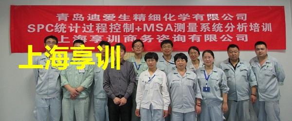SPC培训-MSA培训――青岛迪爱生精细化学有限公司